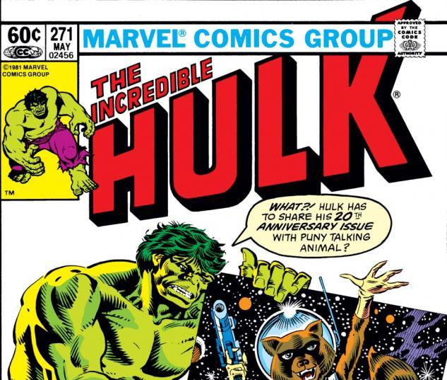 Incredible Hulk (1962) #271 Cover