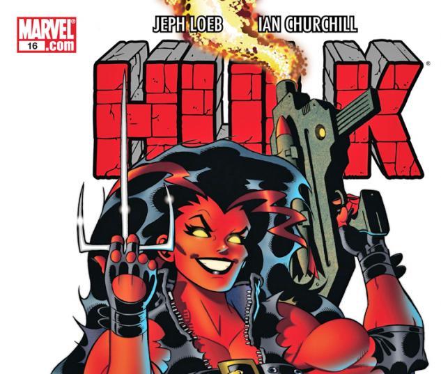 Cover: Hulk (2008) #16