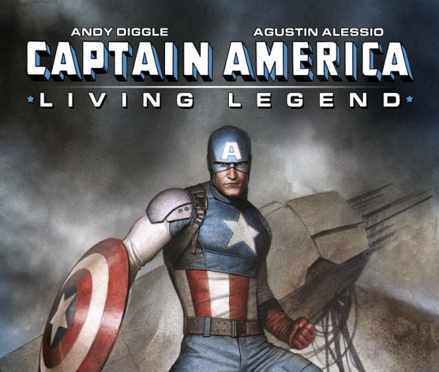 CAPTAIN AMERICA: LIVING LEGEND 4 (WITH DIGITAL CODE)