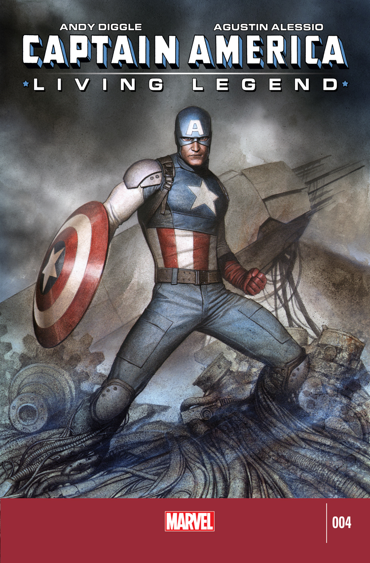 Captain America: Living Legend (2010) #4