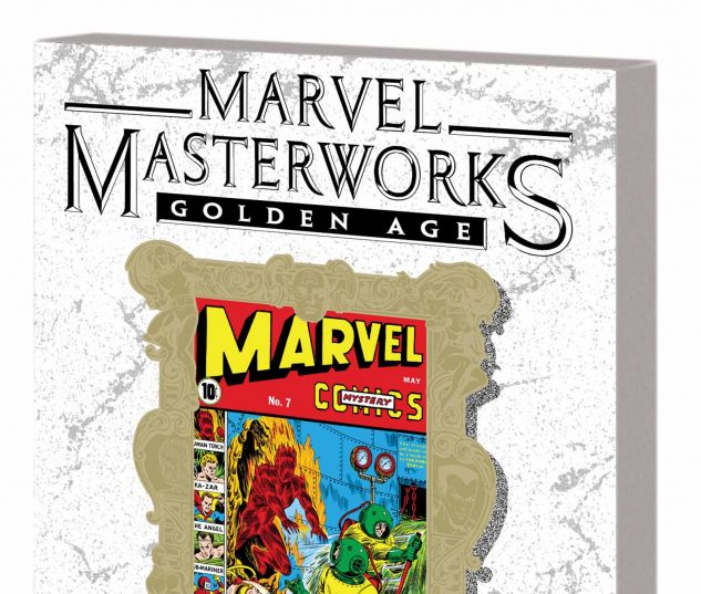 MARVEL MASTERWORKS: GOLDEN AGE MARVEL COMICS VOL. 2 TPB VARIANT (DM ONLY)