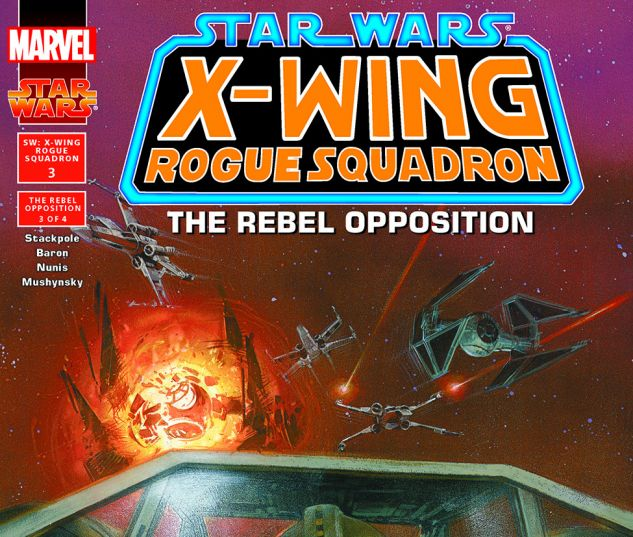 Star Wars: X-Wing Rogue Squadron (1995) #3