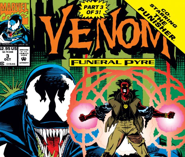 Cover for VENOM: FUNERAL PYRE 3