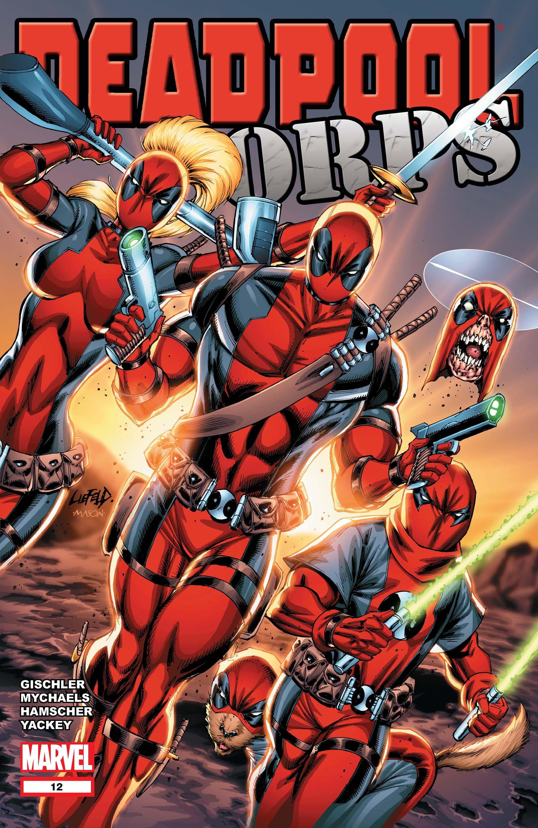 Deadpool Corps (2010) #12