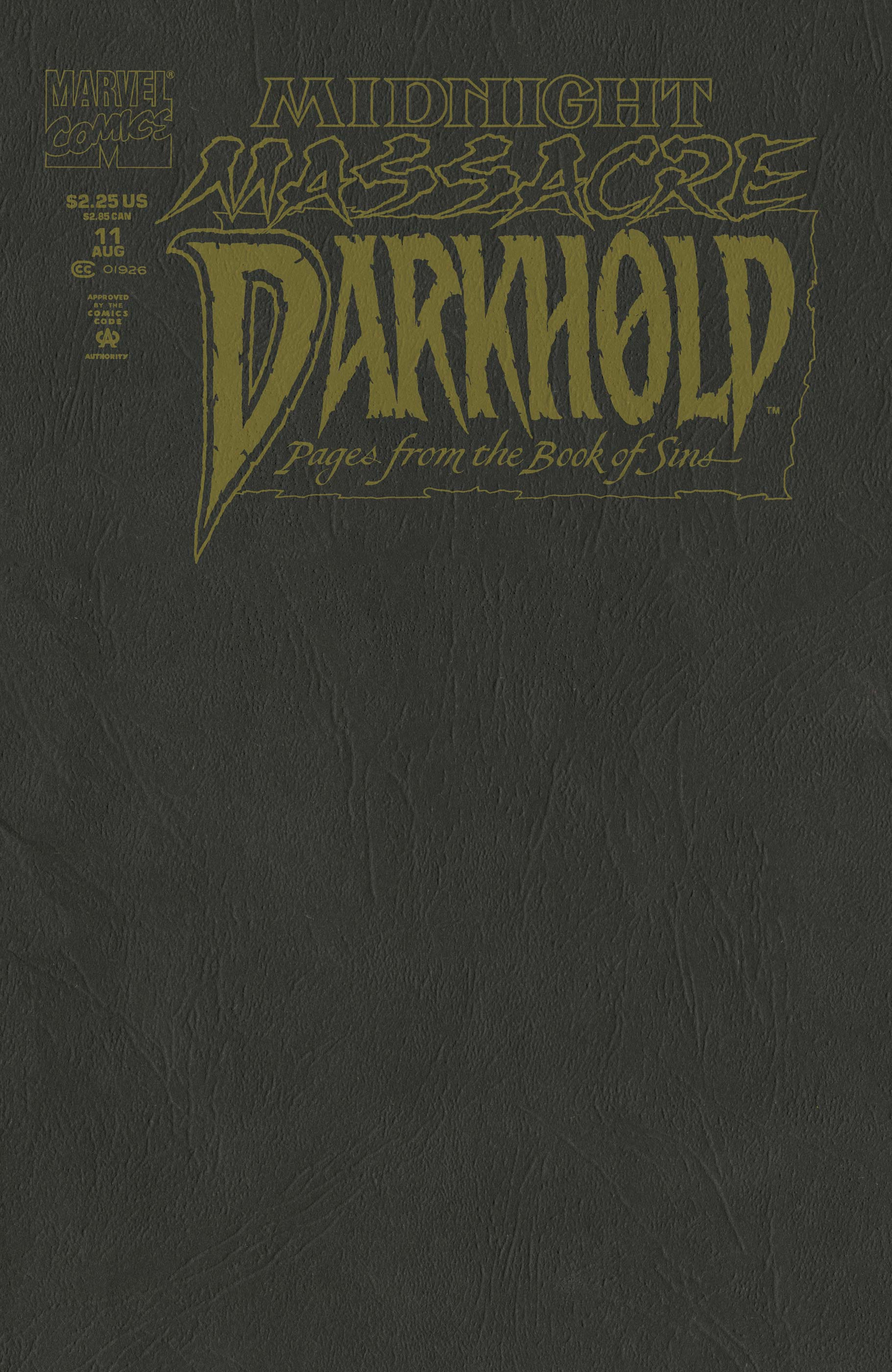 Darkhold: Pages from the Book of Sins (1992) #11