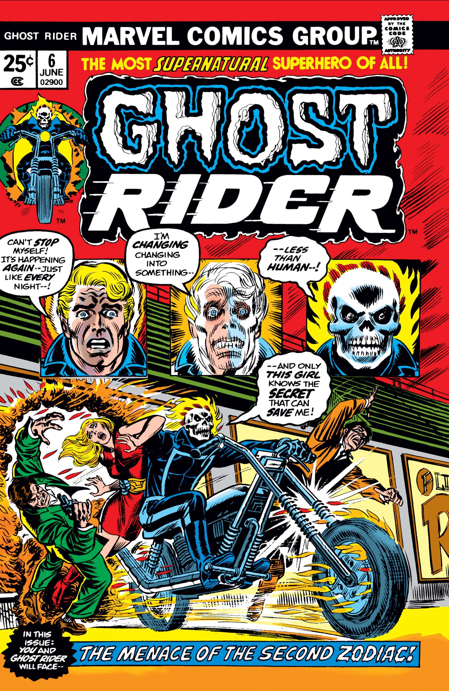 Ghost Rider (1973) #6
