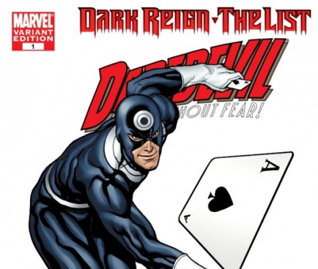 DARK REIGN: THE LIST - DAREDEVIL #1 (HERO VARIANT)