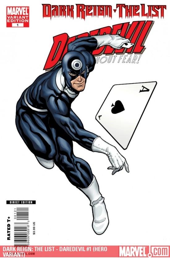Dark Reign: The List - Daredevil (2009) #1 (HERO VARIANT)