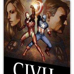 CIVIL WAR: FANTASTIC FOUR COVER