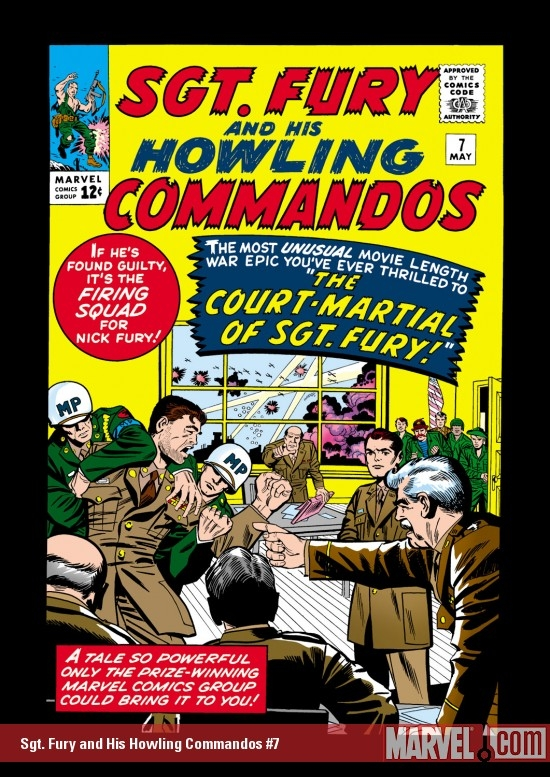 Sgt. Fury and His Howling Commandos (1963) #7