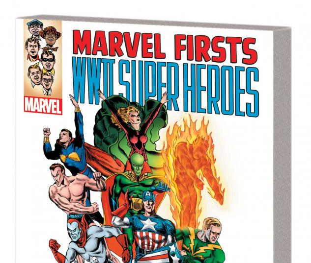 MARVEL FIRSTS: WWII SUPER HEROES TPB