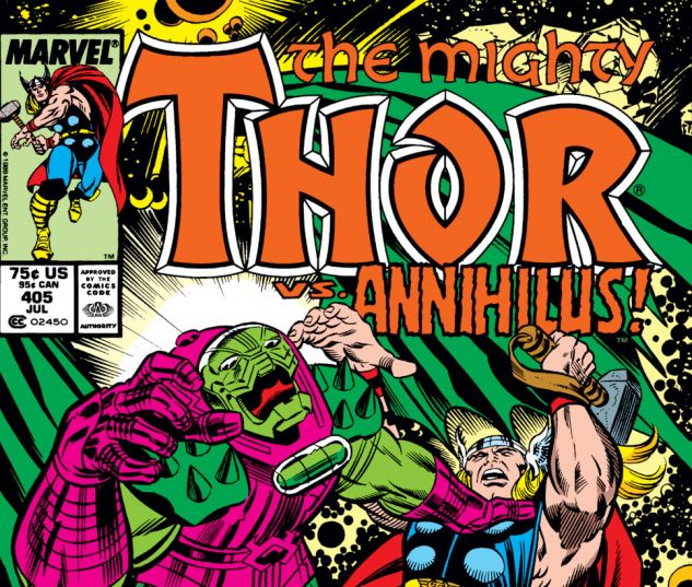 Thor (1966) #405 Cover