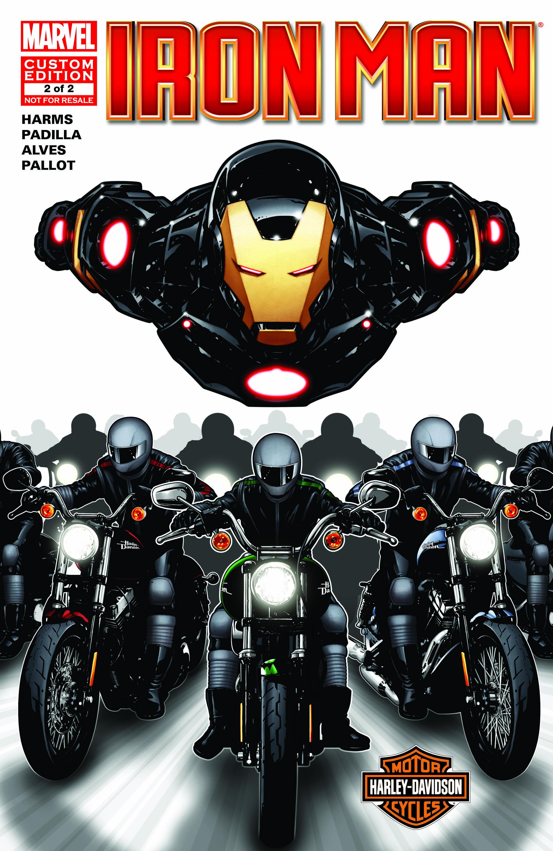 HARLEY DAVIDSON IRON MAN 1 (2013) #1