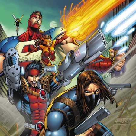 Thunderbolts #1 Cover by Jon Malin