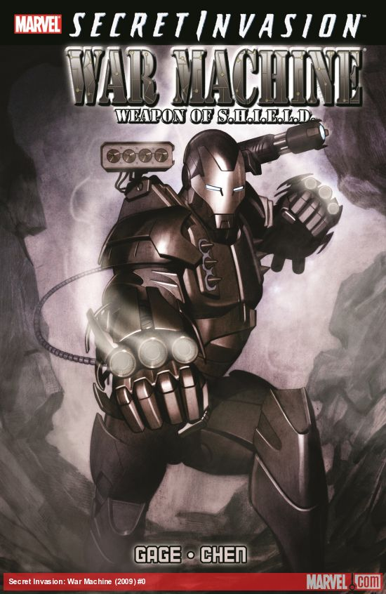 Secret Invasion: War Machine (Trade Paperback)