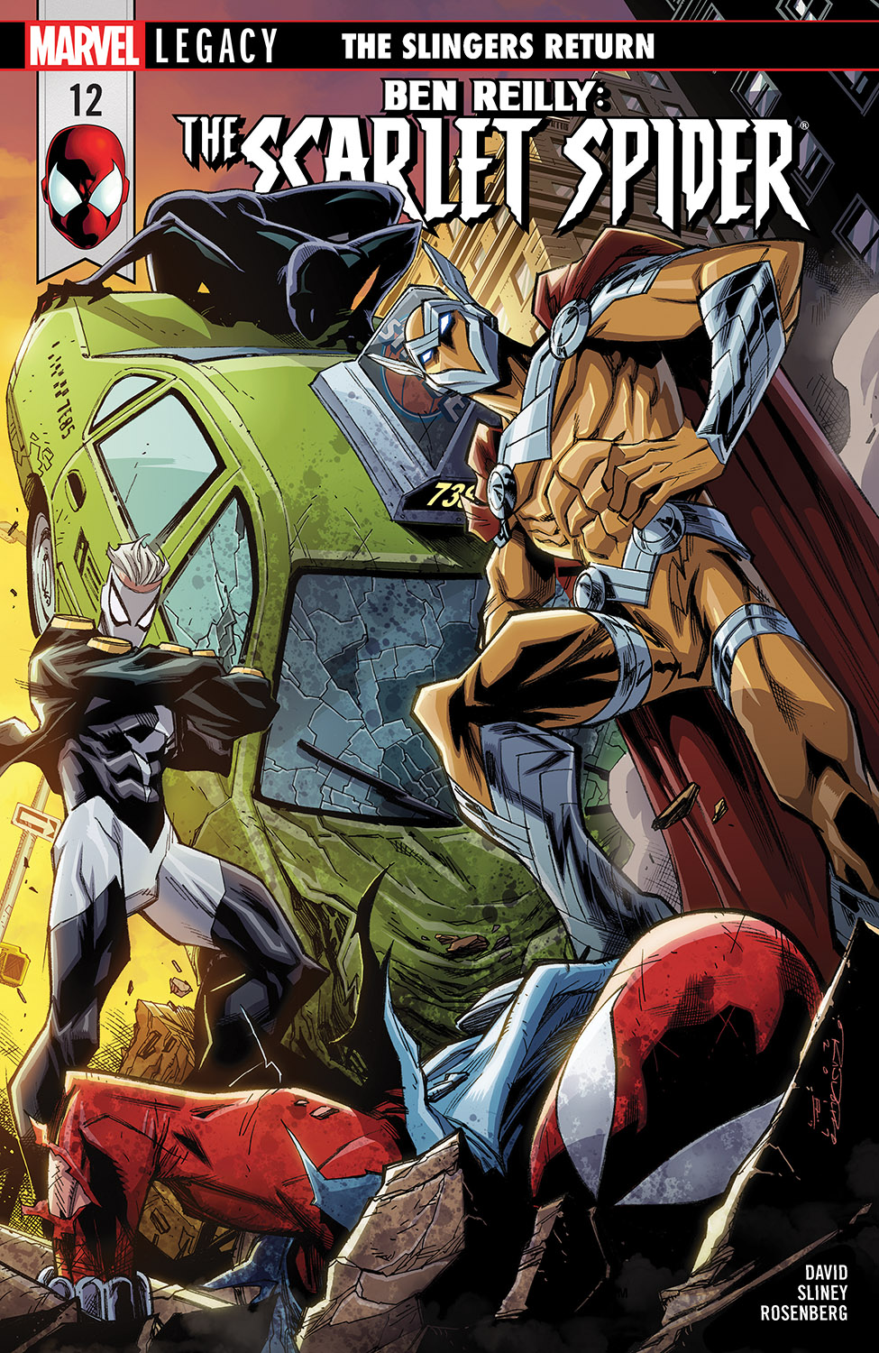 Ben Reilly: Scarlet Spider (2017) #12