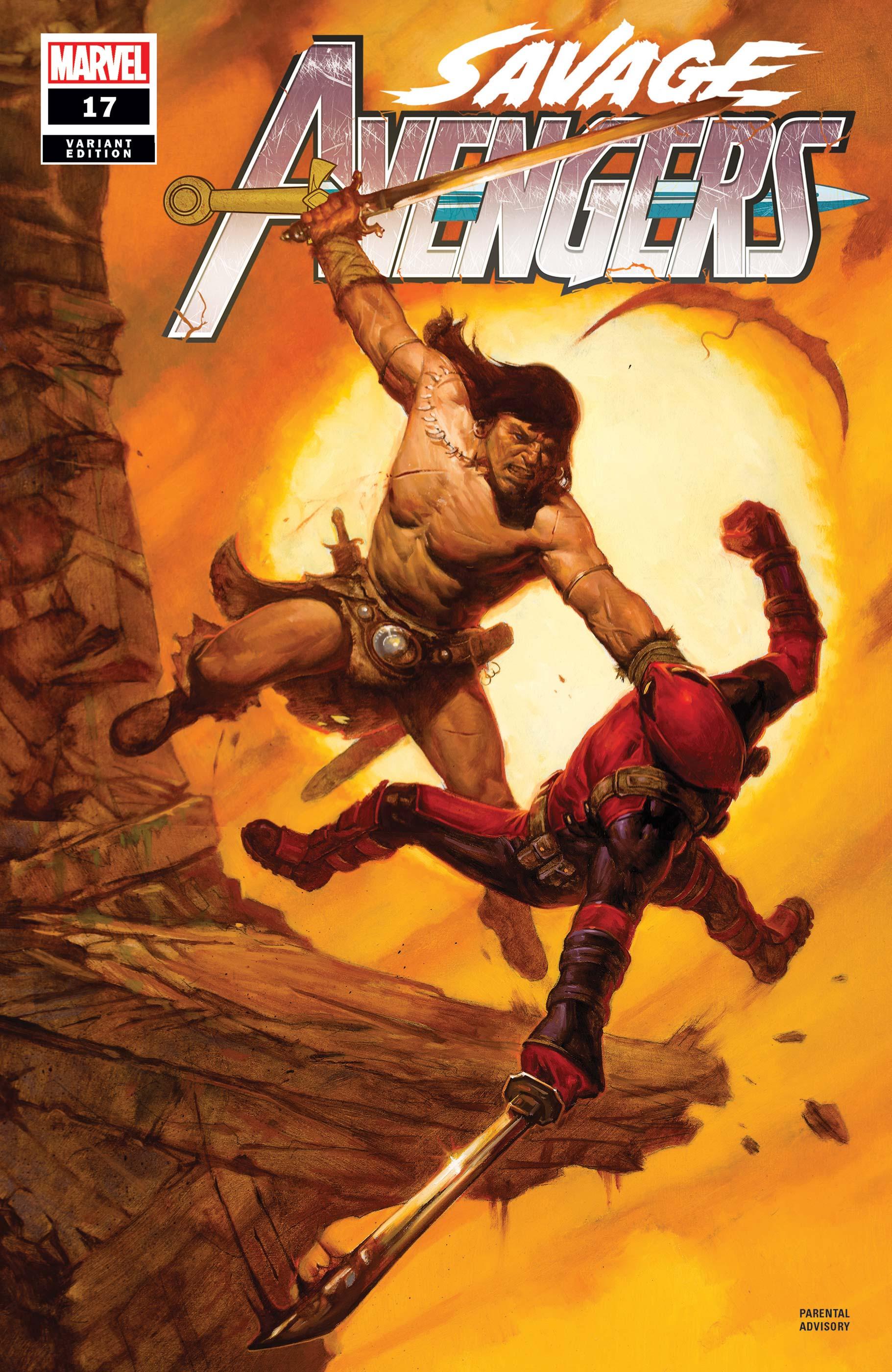 Savage Avengers (2019) #17 (Variant)