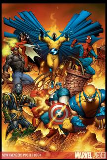 New Avengers Poster Book (2008)