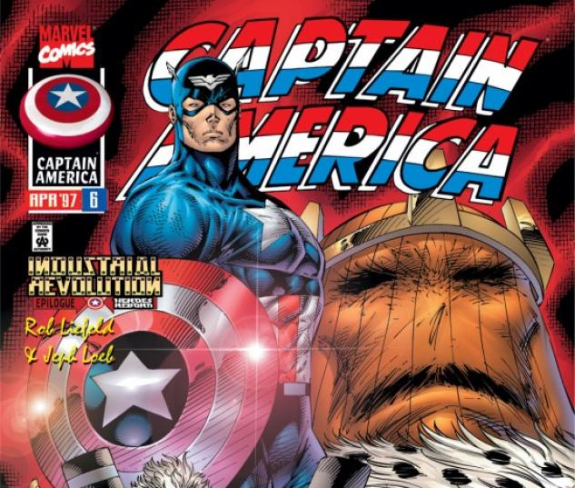 CAPTAIN AMERICA (2008) #6 COVER