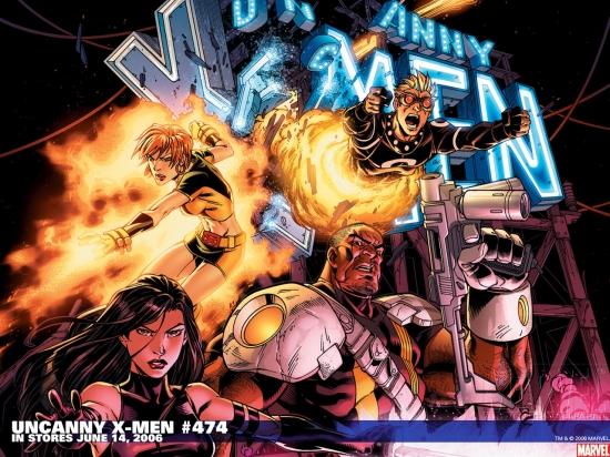 Uncanny X-Men (1963) #474 Wallpaper