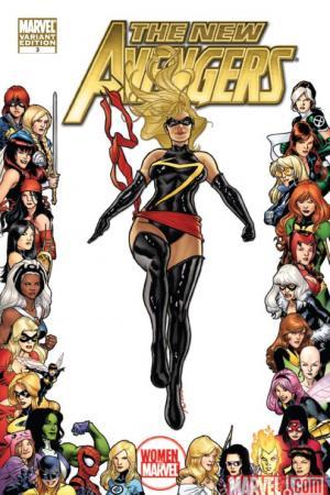 New Avengers (2010) #3 (WOMEN OF MARVEL VARIANT)