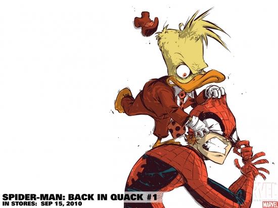 Spider-Man: Back in Quack (2010) #1 Wallpaper
