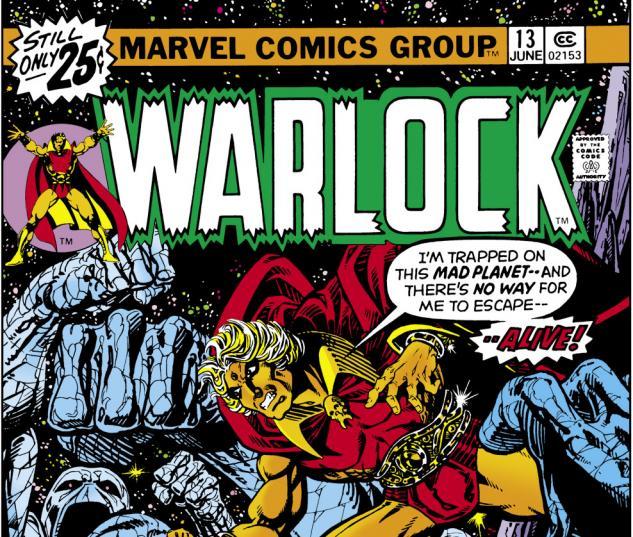 Warlock (1972) #13 Cover