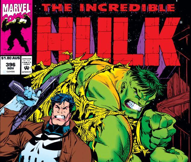 Incredible Hulk (1962) #396 Cover