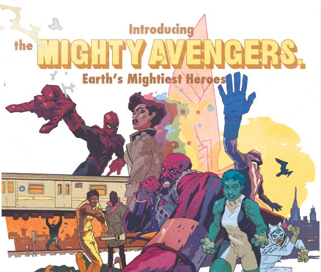 MIGHTY AVENGERS 3 WIMBERLY VARIANT (INF, WITH DIGITAL CODE)