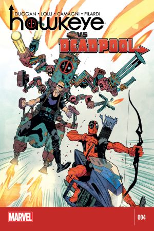 Hawkeye vs Deadpool (2014) #4