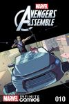 cover from Marvel Universe Avengers: TBD Infinite Comic (2015) #10