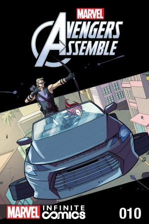 Marvel Universe Avengers Infinite Comic #10