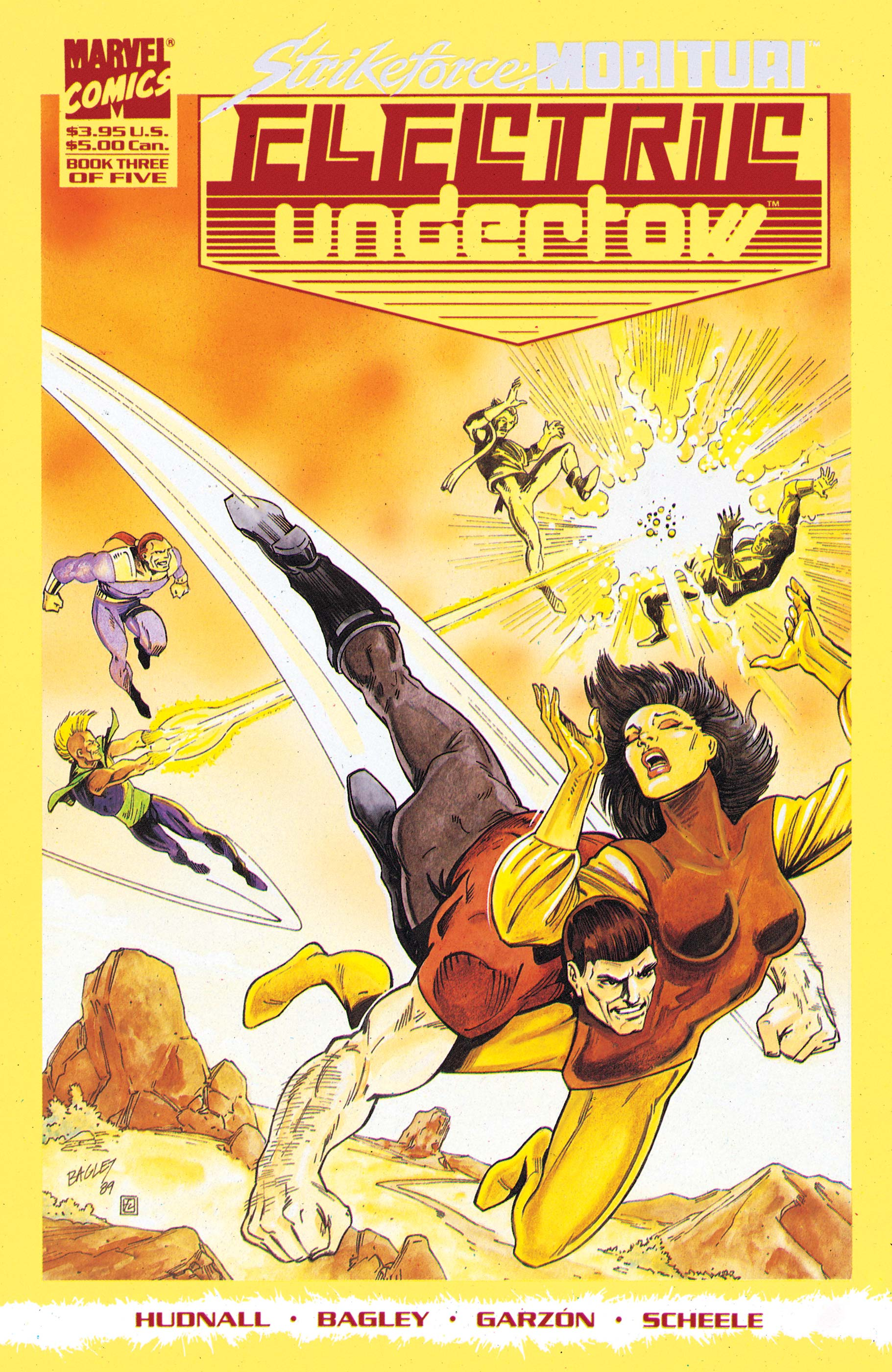 Strikeforce Morituri: Electric Undertow (1989) #3