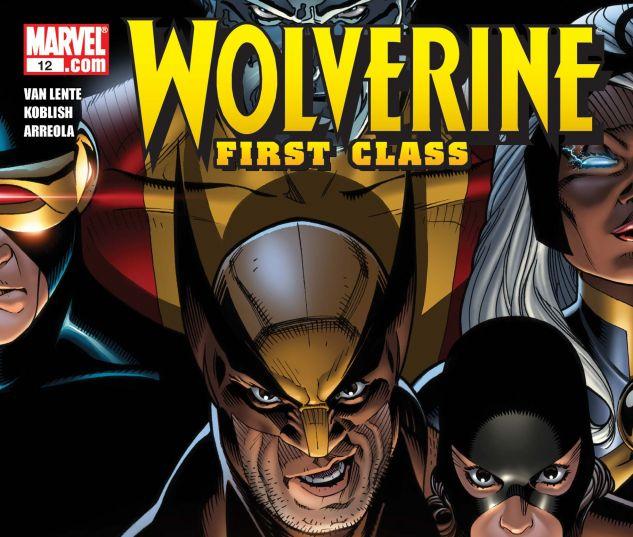 WOLVERINE: FIRST CLASS (2008) #12