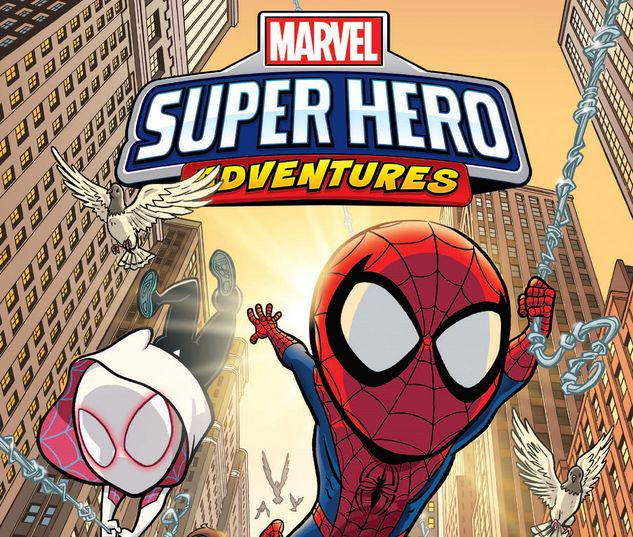 MARVEL SUPER HERO ADVENTURES: SPIDER-MAN GN-TPB #1
