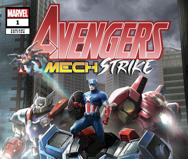 Avengers Mech Strike #1