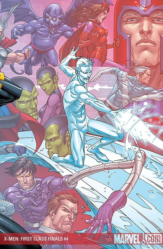 X-Men: First Class Finals (2009) #4