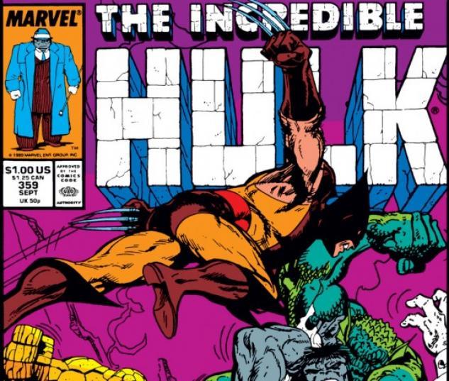 INCREDIBLE HULK #359 COVER