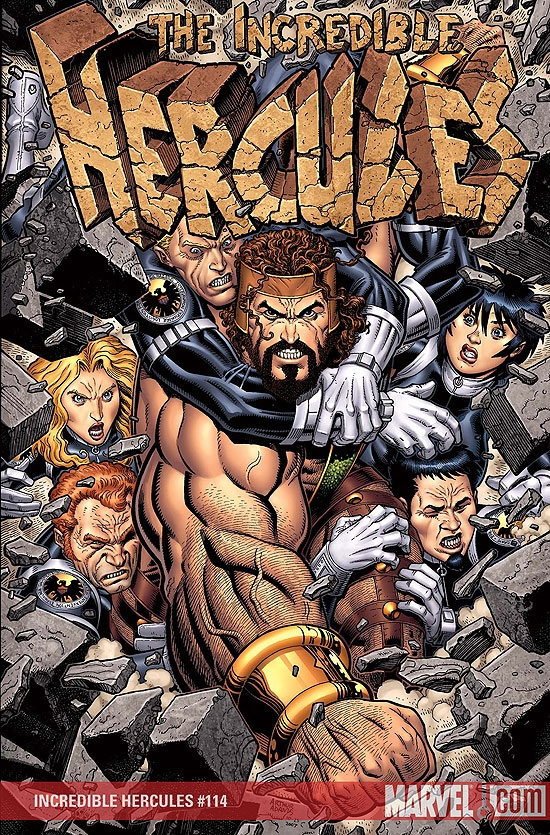 Incredible Hercules (2008) #114