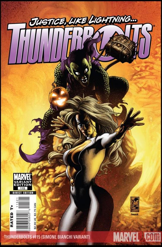 Thunderbolts (2006) #115 (Simone Bianchi Variant)