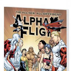 ALPHA FLIGHT VOL. 2: WAXING POETIC COVER