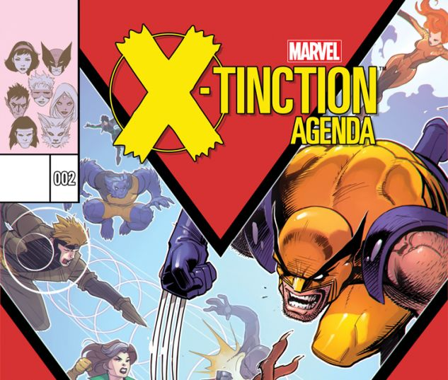 X-TINCTION AGENDA 2 (SW, WITH DIGITAL CODE)
