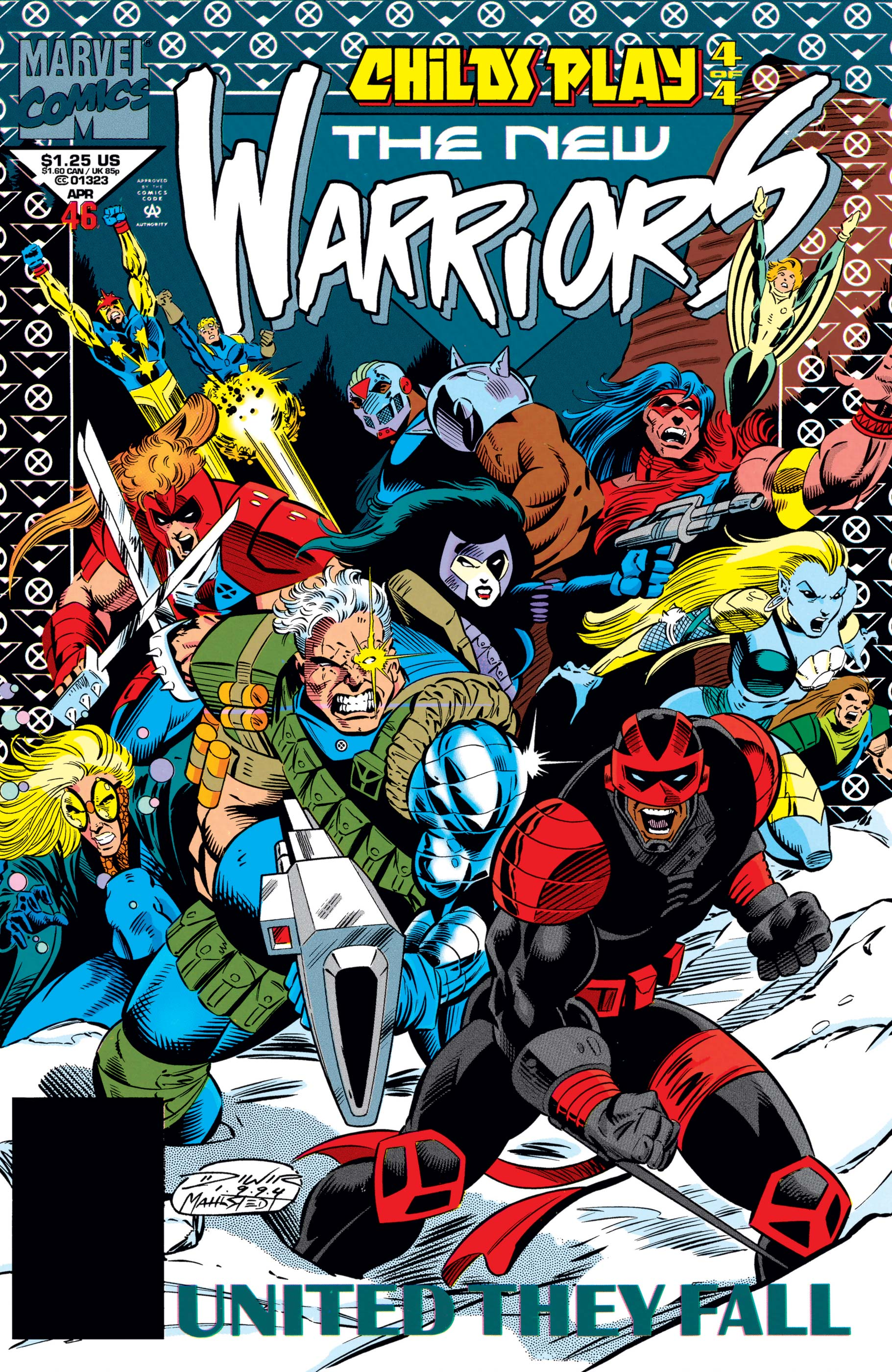 New Warriors (1990) #46