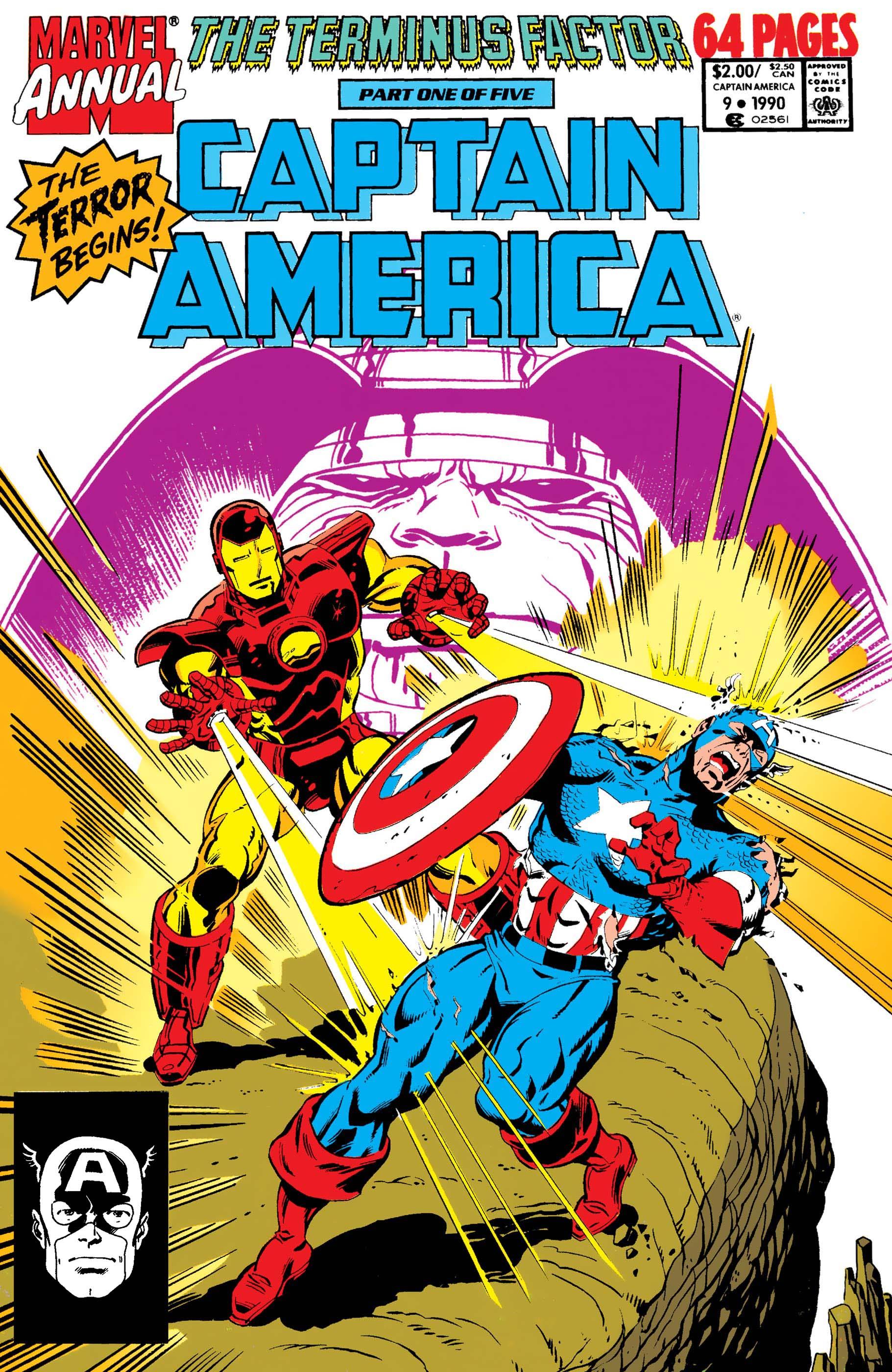 Captain America Annual (1971) #9