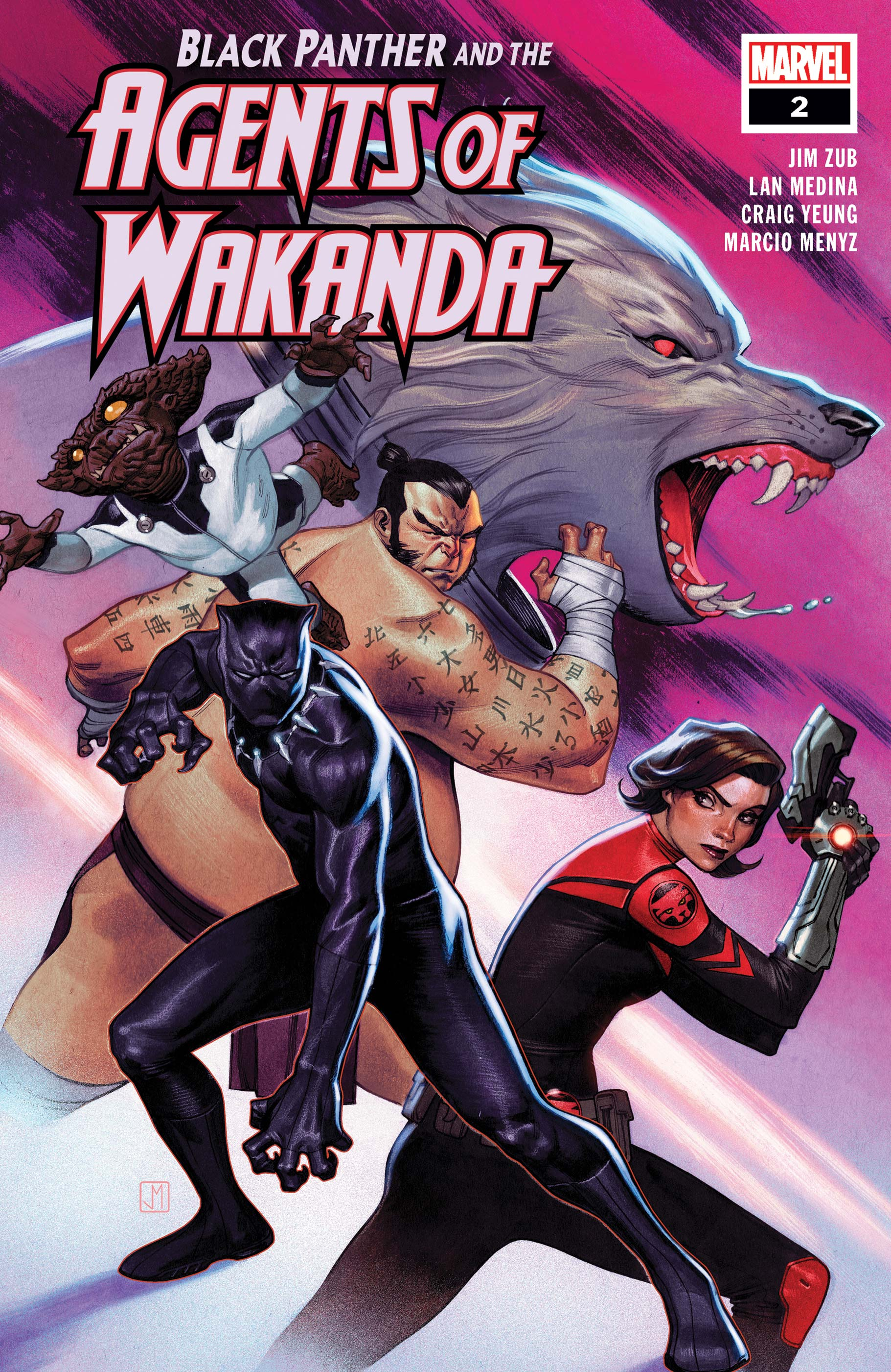 Black Panther and the Agents of Wakanda (2019) #2