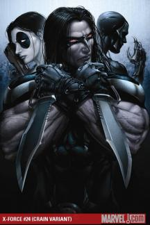 X-Force (2008) #24 (CRAIN VARIANT)