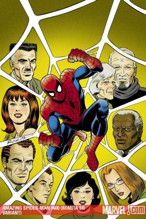 Amazing Spider-Man #600  (ROMITA SR VARIANT)