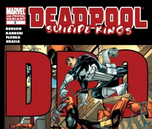 DEADPOOL: SUICIDE KINGS #2 (2ND PRINTING VARIANT)