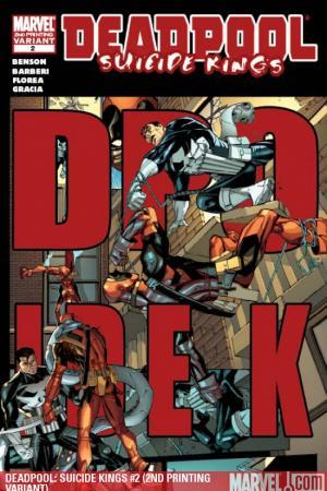 Deadpool: Suicide Kings (2009) #2 (2ND PRINTING VARIANT)