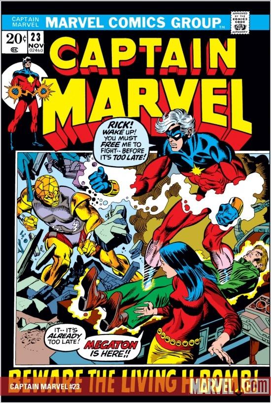 Captain Marvel (1968) #23